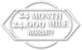 24 Month/24,000 Mile Warranty